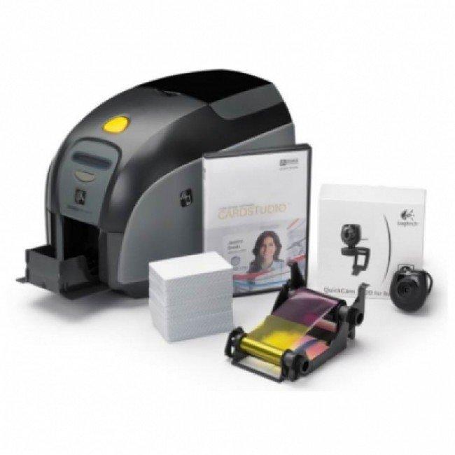 ZXP Series 1 комплект - Картов принтер за едностранен печат, CardStudio Standard, 200 PVC карти