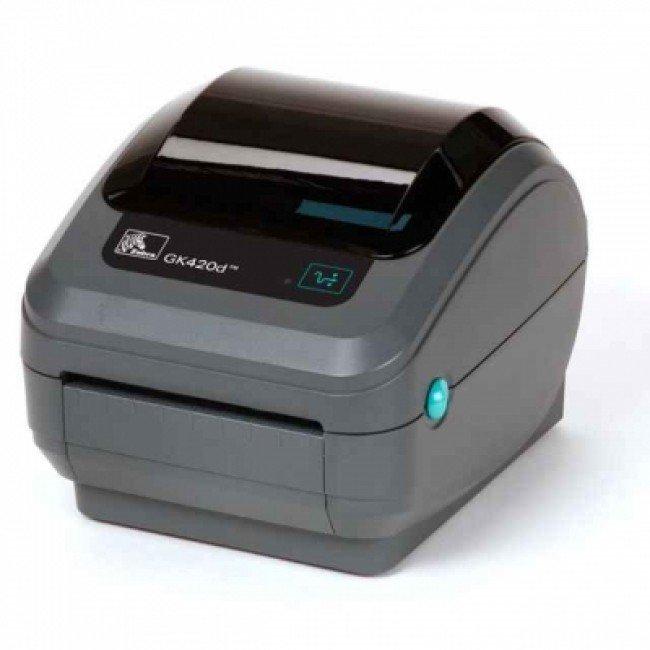 GK420D Термодиректен етикетен принтер, 203 dpi