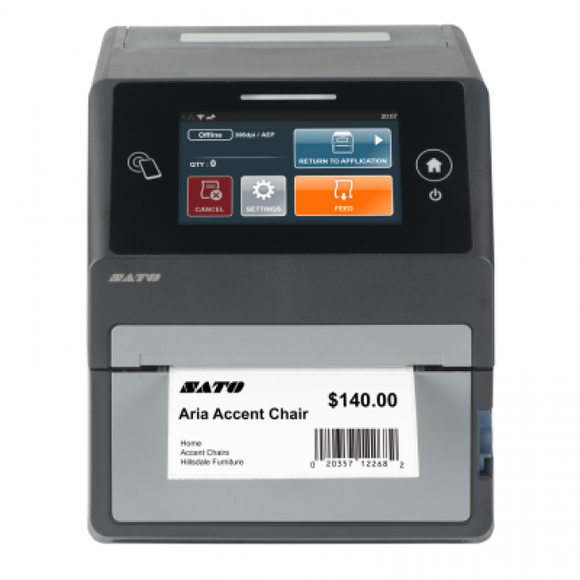 CT4-LX Термотрансферен етикетен принтер, 203 dpi