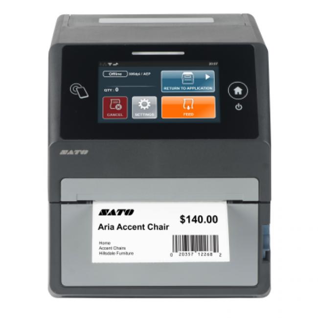 CT4-LX Термотрансферен етикетен принтер, 300 dpi