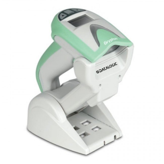 Gryphon GM4400-HC Баркод скенер 2D, STAR, станция