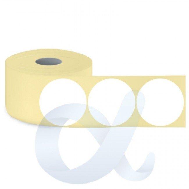 Самозалепващи термоетикети Eco, Fi68 mm/1100 бр./Ф40/кръгли - APL-TDE136