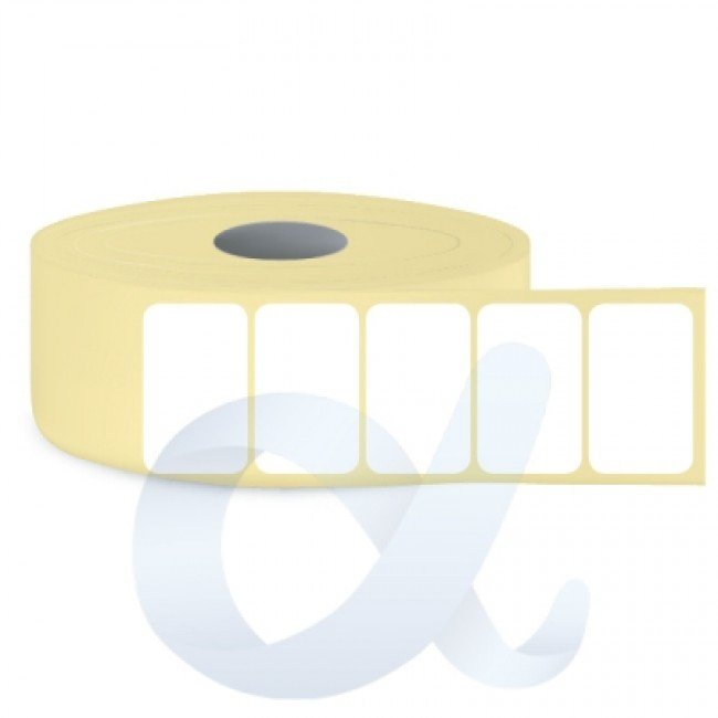 Самозалепващи термоетикети Eco, 38,1x21,2 mm/6000 бр./Ф76 - APL-TDE150
