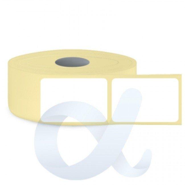 Самозалепващи термотрансферни етикети, полугланц, 58x93 mm/1300 бр./Ф76 - APL-TT046