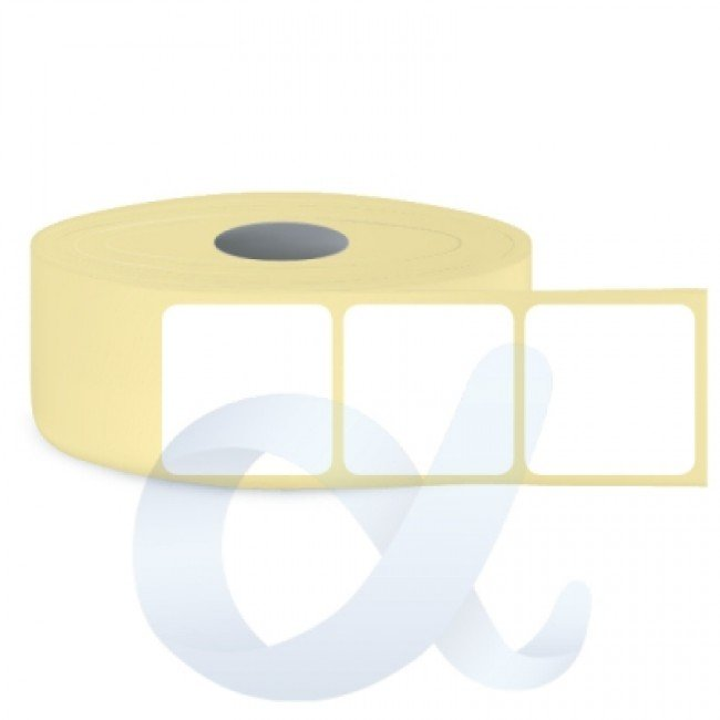 Самозалепващи термотрансферни етикети, полугланц, 80x80 mm/2000 бр./Ф76 - APL-TT067