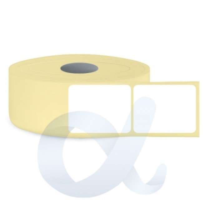 Самозалепващи термотрансферни етикети, полугланц, 100x120 mm/1300 бр./Ф76 - APL-TT100