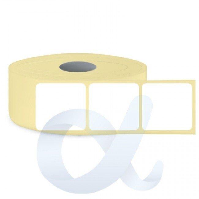Самозалепващи термотрансферни етикети, полугланц, 105x120 mm/1300 бр./Ф76 - APL-TT115