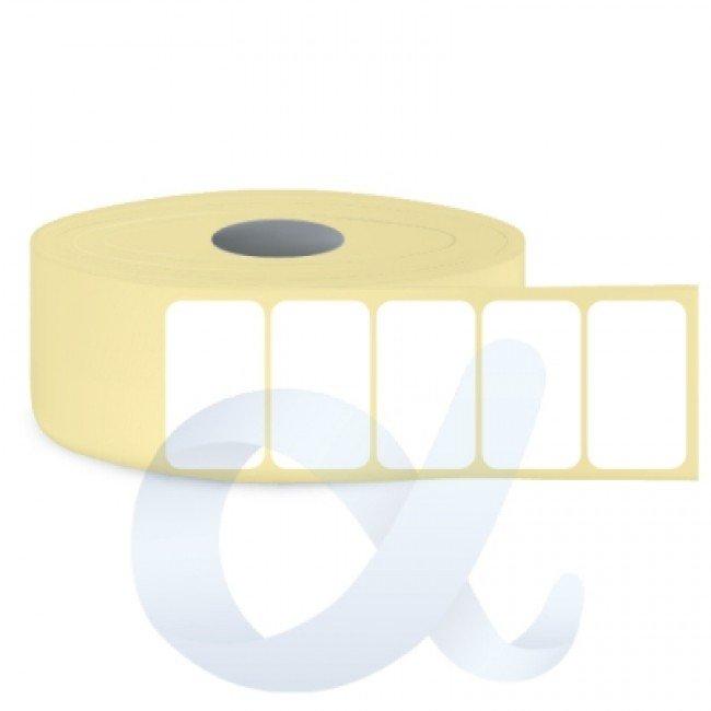 Самозалепващи термотрансферни етикети, полугланц, 22x12 mm/10000 бр./Ф76 - APL-TT146