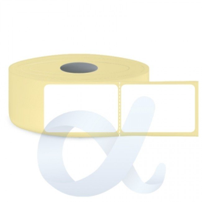 Самозалепващи термотрансферни етикети, полугланц, 100x150 mm/1000 бр./Ф76/перфорация - APL-TT167