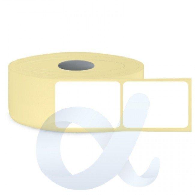 Самозалепващи термотрансферни етикети, полугланц, 50x50 mm/1500 бр./Ф40 - APL-TT185