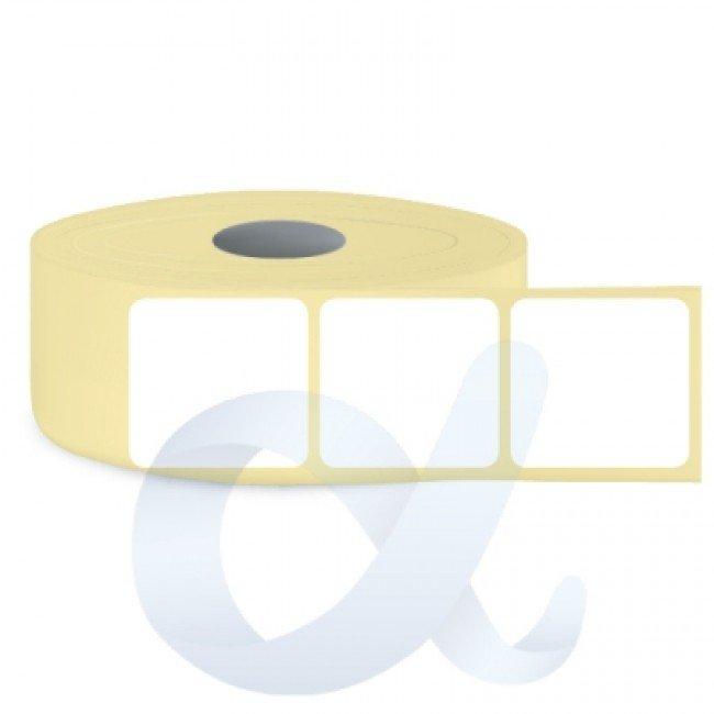 Самозалепващи термотрансферни етикети, полугланц, 100x110 mm/1500 бр./Ф76 - APL-TT181