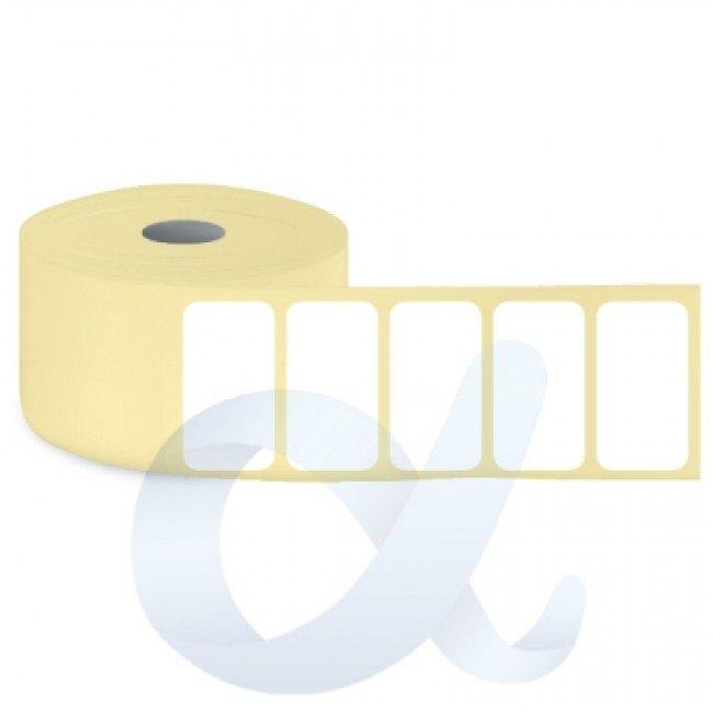 Самозалепващи термотрансферни етикети, полугланц, 30x20 mm/3000 бр./Ф25 - APL-TT006