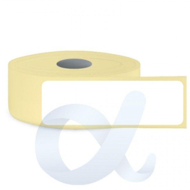 Самозалепващи термотрансферни етикети, полугланц, 29x102 mm/1500 бр./Ф76 - APL-TT001