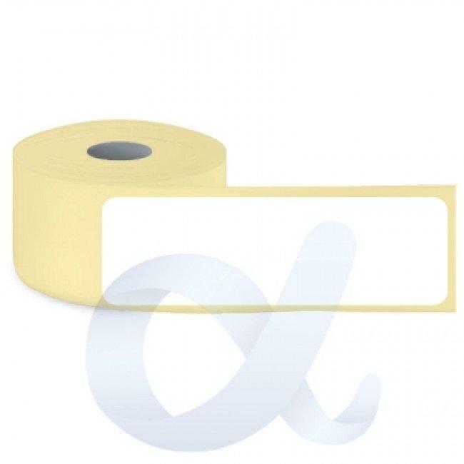 Самозалепващи термотрансферни етикети, полугланц, 29x102 mm/750 бр./Ф40 - APL-TT002