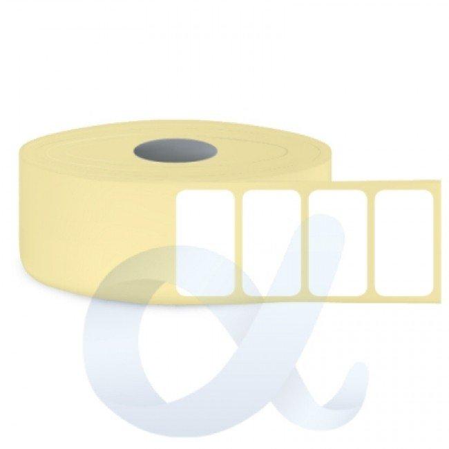 Самозалепващи термотрансферни етикети, полугланц, 30x20 mm/6000 бр./Ф76 - APL-TT004