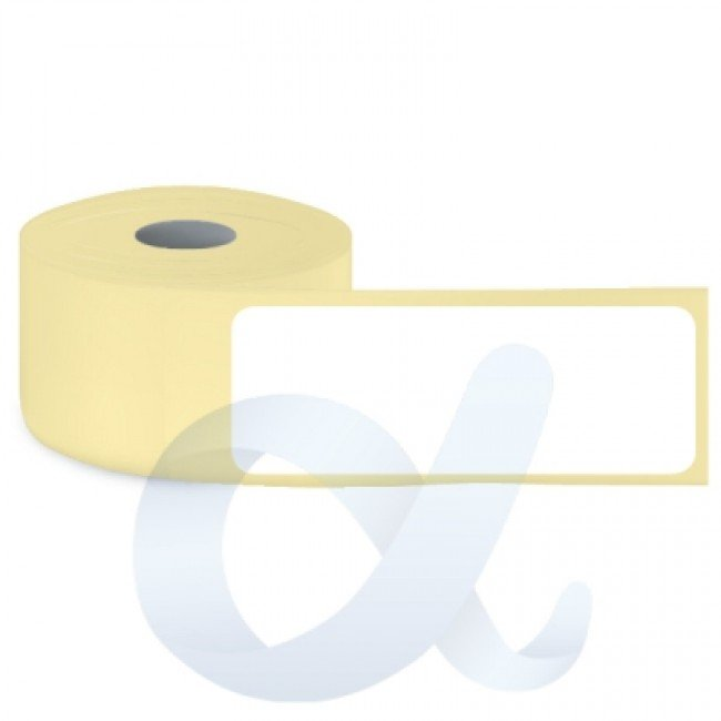 Самозалепващи термотрансферни етикети, полугланц, 34x90 mm/850 бр./Ф40 - APL-TT011