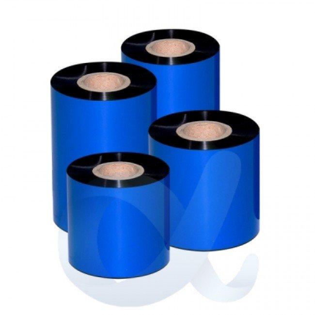 Термотрансферна лента WAX-Resin, 100 mm/300 m/Ф25 mm - ALP-WR020