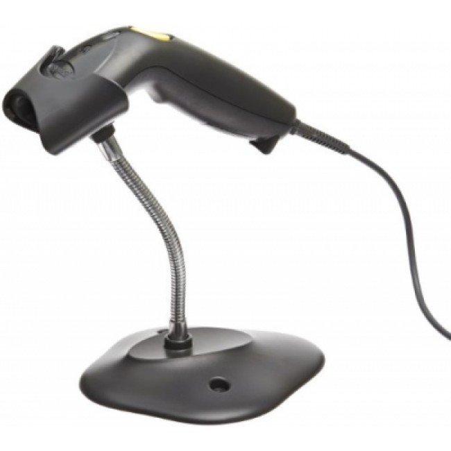 LS1203 Баркод скенер 1D, стойка и USB кабел