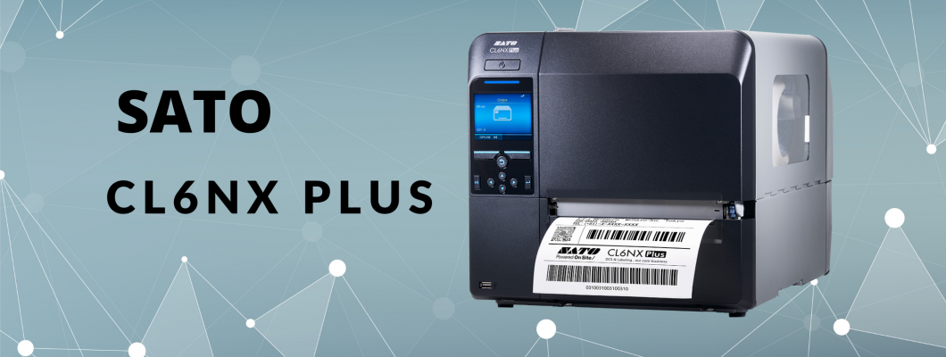 Нов 6-инчов етикетен принтер от SATO - CL6NX Plus